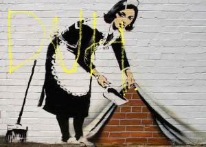 Banksy-Sweeping-Maid