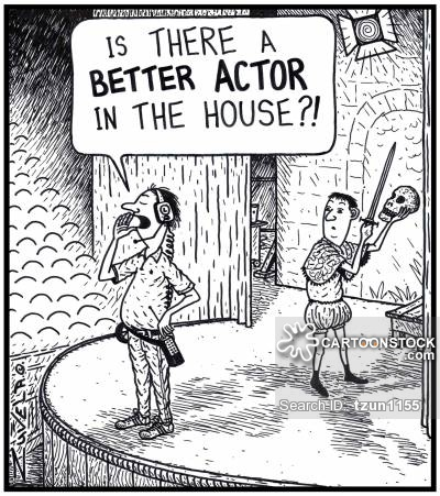 Stage Manager: 'Is THERE a BETTER ACTOR in the House?!'